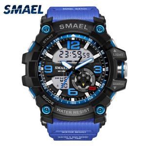 【送料無料】#スタイリッシュスポーツデュアルmenamp;39;s stylish sports multifunction electronic watch impermeabile dual v1o0