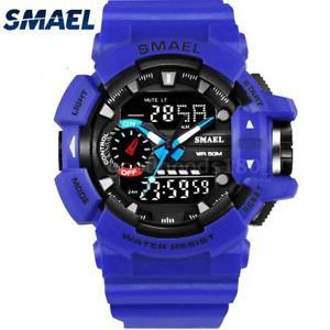 【送料無料】#スタイリッシュスポーツウォッチデュアルmenamp;39;s stylish sports multifunction electronic watch impermeabile dual p7f6
