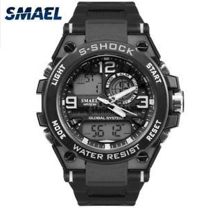 【送料無料】#スタイリッシュスポーツウォッチデュアルmenamp;39;s stylish sports multifunction electronic watch impermeabile dual r9u9