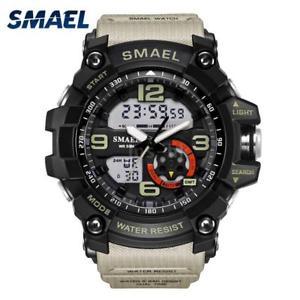 【送料無料】#スタイリッシュスポーツウォッチデュアルmenamp;39;s stylish sports multifunction electronic watch impermeabile dual i5c0