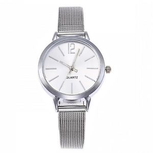 【送料無料】ファッションシルバーストラップdonna orologio moda quadrante piccolo colore argento cinturino sottile