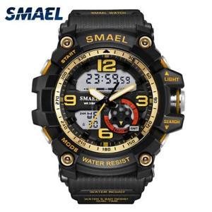 【送料無料】#スタイリッシュスポーツデュアルmenamp;39;s stylish sports multifunction electronic watch impermeabile dual g5r7