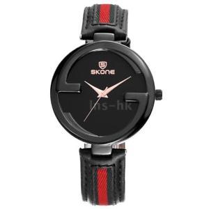 【送料無料】ファッションクォーツウォッチskone fashion quartz genuine leather women watch 3atm orologio da polso g9a0