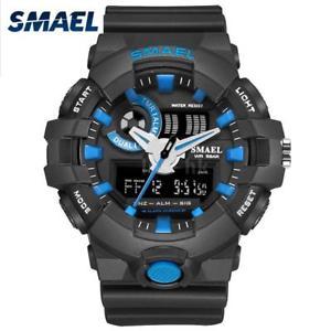 【送料無料】#スタイリッシュスポーツデュアルmenamp;39;s stylish sports multifunction electronic watch impermeabile dual m1g5