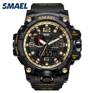 【送料無料】#スタイリッシュスポーツウォッチデュアルmenamp;39;s stylish sports multifunction electronic watch impermeabile dual x1f3