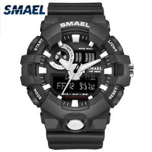 【送料無料】#スタイリッシュスポーツデュアルmenamp;39;s stylish sports multifunction electronic watch impermeabile dual g4q3