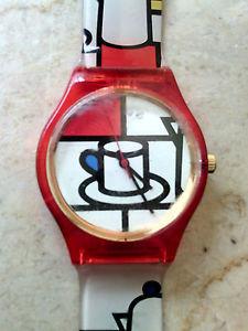 【送料無料】クロックラバッツァヴィンテージウォッチorologio watch vintage lavazza anni 90 raro