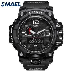 【送料無料】#スタイリッシュスポーツウォッチデュアルmenamp;39;s stylish sports multifunction electronic watch impermeabile dual t5s4