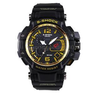 【送料無料】#スタイリッシュスポーツウォッチデュアルmenamp;39;s stylish sports multifunction electronic watch impermeabile dual f1b7