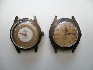 【送料無料】nuova inserzionelot de 2 anciennes montres mortima  restaurer ou pour pices