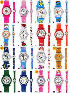 【送料無料】アナログシリコンorologi da polso bambini lernuhr ragazze giovani kinderuhr silicone analogico orologio da polso