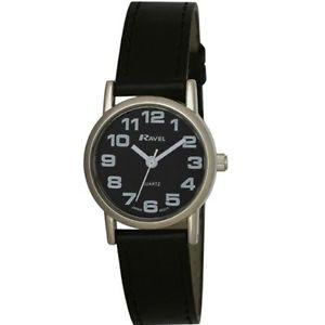 【送料無料】ラヴェルプラスチックカラーブラックravel r0105072 orologio da polso, donna, plastica, colore nero b4z