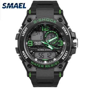 【送料無料】#スタイリッシュスポーツデュアルmenamp;39;s stylish sports multifunction electronic watch impermeabile dual h4j0