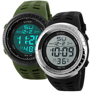 【送料無料】アラームカジュアルデジタルクォーツスポーツウォッチbambini uomo donna orologio da polso led sveglia casual militare digital quarzo orologio sportivo