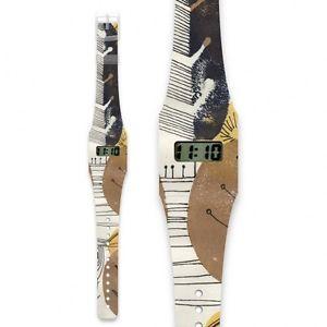 【送料無料】アンプpappwatch tyvek hand made impermeabile amp; strappare resisitant carta orologio da polso ottobre