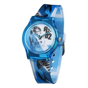 【送料無料】スターウォーズジャーナルドロイドufficiale per bambini star wars r2d2 qa orologio da polsonuovo blu bianco droid