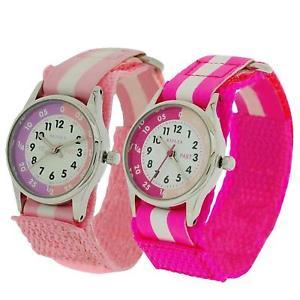 【送料無料】ホットピンクピンク2 x reflex tempo insegnante hot rosa rosa facile fissare ragazze bambini bimbi orologio