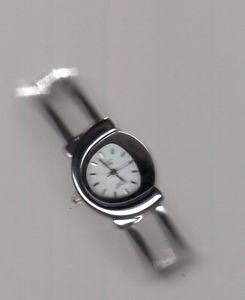 【送料無料】クロックブレスレットステンレススチールバorologio omax donna bracciale acciaio inox ba0030