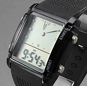 【送料無料】バックライトカラークォーツデジタルクロック7 colori retroilluminato digitale quarzo alla moda elettronico nuovo militare orologio originale