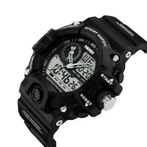 【送料無料】デジタルスポーツm1 pz multifunzionale orologio digitale uomo sportivo 50m dentro acqua resistente