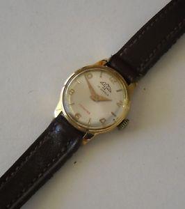 【送料無料】ビンテージファルレディーススイスファルパラvintage falken ladies gold plated watch working swiss falken para mujer funciona