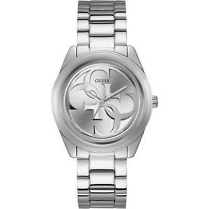 【送料無料】ツイストスチールブレスレットシルバーorologio guess g twist solo tempo donna bracciale acciaio silver w1082l1