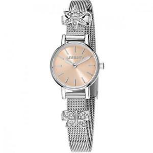 【送料無料】クロックビーズmorellato tesori orologio donna solo tempo in acciaio con beads r0153122582