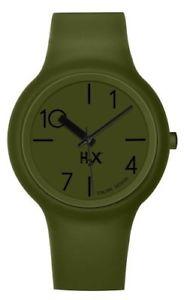 【送料無料】クロックuomo haurex sv390uv1 h2x nuovo orologio 8058159082332 verdeverde