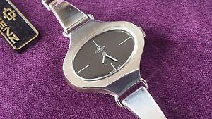 シルバースターリングビンテージクロックウォッチレディースnos lorenz edox argento 925 sterling vintage orologio watch lady ladies woman