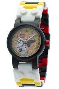 【送料無料】レゴスターウォーズアナログクォーツクロックlego star wars stormtrooper orologio da bambini analogico quarzo w2p