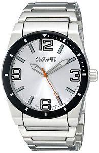 【送料無料】シュタイナークオーツアナログaugust steiner as8152ssw orologio da polso al quarzo, analogico, uomo, i1n