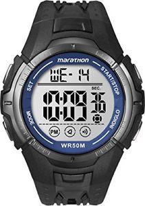 【送料無料】ブラックデジタルnero unico timex t5k359 orologio digitale da polso da uomo, resina, cm2
