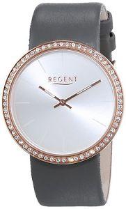 【送料無料】リージェントレザーストラップカラーregent 12100592 orologio da polso da donna, cinturino in pelle colore c7u
