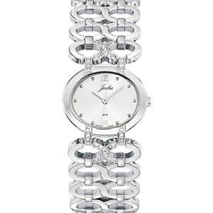 【送料無料】カラーシルバーjoalia 633289 orologio da polso donna, metallo, colore argento
