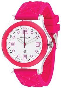 【送料無料】ゴーシリコンストラップorphelia or22172817 orologio da polso da donna, cinturino in silicone j2h