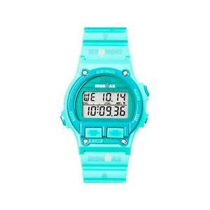 【送料無料】クロックシリコンデジタルヘブンリースポーツファッションorologio timex ironman tw5k99500 in silicone celeste digitale sport moda donna