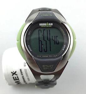 【送料無料】クロックチタンラップスタートスプリットスポーツトライアスロンorologio timex ironman titanium 75 lap t5j731 start split watch sport triathlon