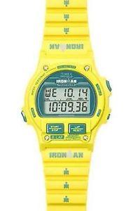 【送料無料】クロックデジタルシリコンスポーツファッションorologio timex ironman tw5k98800 giallo e blu silicone digitale sport moda donna
