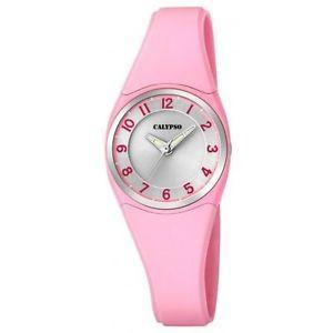 【送料無料】orologio ragazza con cinturino in silicone rosa calypso by festina cod k57262