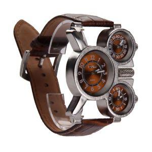 【送料無料】vakind mens quartz military wrist watch with 3movt 23mm stainless steel v6m