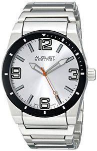 【送料無料】シュタイナークオーツアナログaugust steiner as8152ssw orologio da polso al quarzo, analogico, uomo, v4u