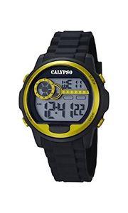 【送料無料】カリプソデジタルプラスチックcalypso orologio digitale da uomo, al quarzo, in plastica, k56675 n0s