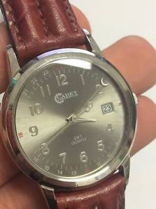【送料無料】ビンテージウォッチnuovo orologio chronostar cadet gmt quartz vintage reloj montre watch