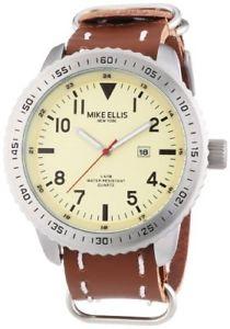 【送料無料】マイクエリスニューヨークダブリンマンmike ellis york dublin orologio da polso uomo nuovo 4897041494655