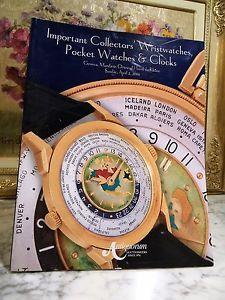 【送料無料】スケールコレクターアンティコルム2006 importanta collectors' wristwatches antiquorum auctionieers english