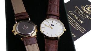 【送料無料】カスタムカスタムメイソンmassonico personalizzato gents orologio vera pelle gratis personalizzato incisione massone