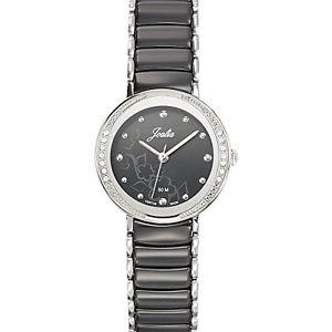 【送料無料】ステンレススチールカラーブラックjoalia 631148 orologio da polso donna, acciaio inox, colore nero d9u
