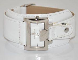 【送料無料】ロッコバロッコrocco barocco 5986sc2a orologio donna pelle bianco listino 145 sottocosto