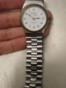 【送料無料】ビンテージorologio vintage stendal time quartz funzionante