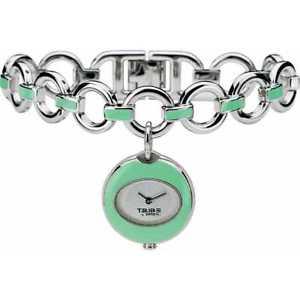 【送料無料】クロックカフグリーンbreil tribe 6819280112 orologio bracciale donna verde listino 100 sottocosto